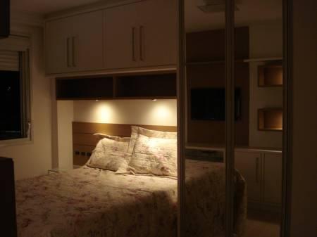 Decoração de quarto de casal de apartamento