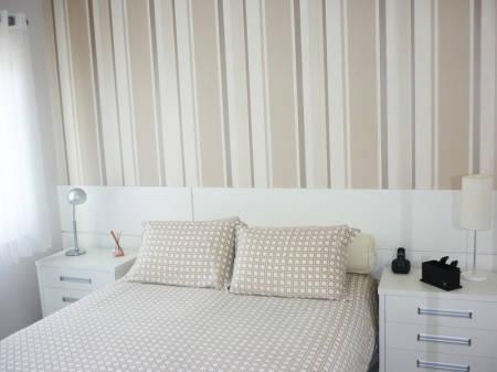 Fotos de quartos de casais decorados clean