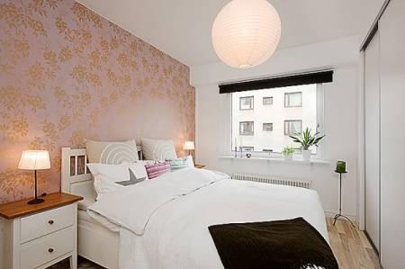 Lustres para quarto de casal pequeno decorado