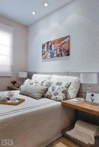 Dicas úteis para quarto de casal pequeno - móveis