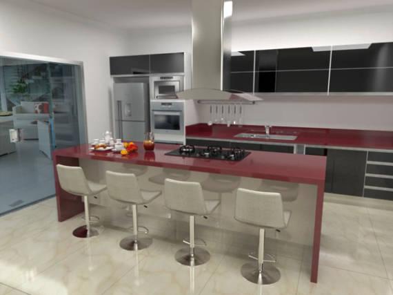 Tendências em cozinhas com conceito aberto
