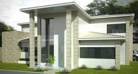 Imagens de projetos arquitetônicos modernos