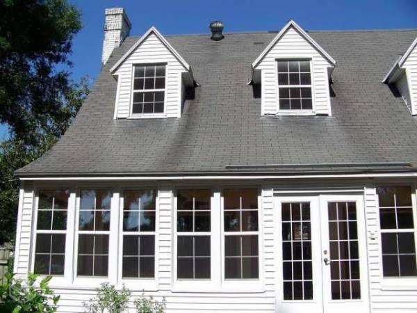 Imagens de casas com telha shingle americanas
