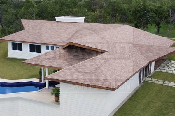 Tipos de telhados com telha shingle - modelos