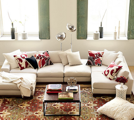 100 almofadas decorativas dicas e como fazer - Modelos de cojines decorativos ...