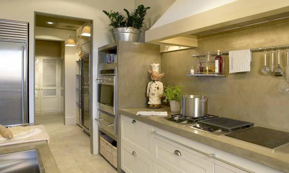 Fotos de bancadas de cozinha com Cimento queimado