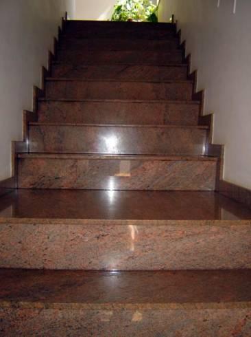 Melhores tipos de granito para escada