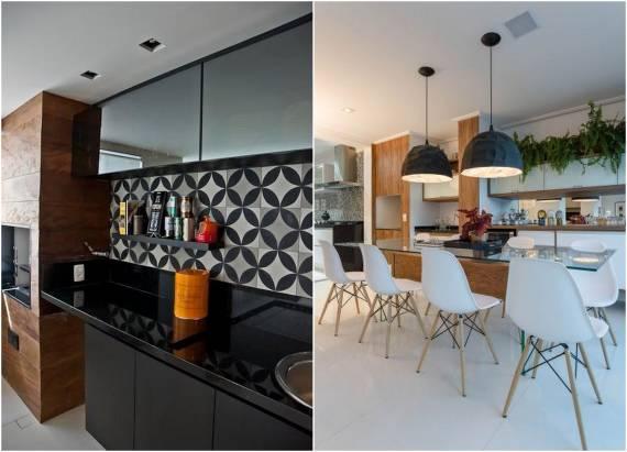 Cozinhas com granito modernas