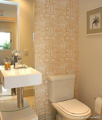 Dicas de papel de parede barato para banheiro