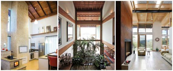 Fotos de lofts com forro de madeira