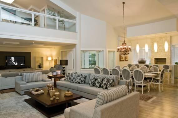 Fotos de casas com pé direito duplo lindas decoradas