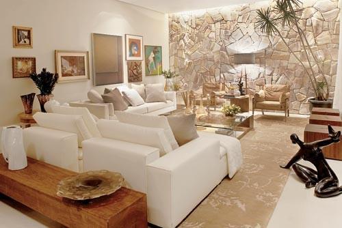 Pedras decorativas ideias para fachadas e paredes for Paredes exteriores decoradas