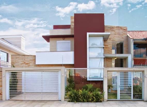 Fotos de casas com Pedras decorativas modernas