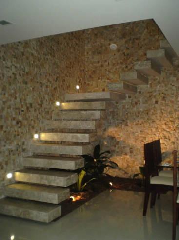 Pedras decorativas ideias para fachadas e paredes for Mosaicos para paredes interiores