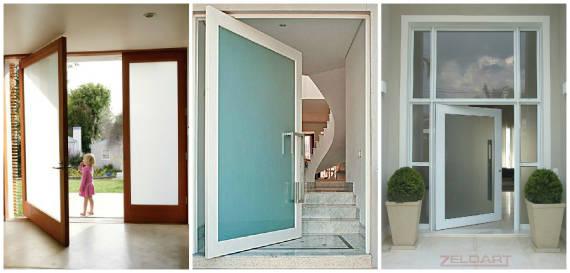 Dicas de modelos de Porta Pivotante de vidro