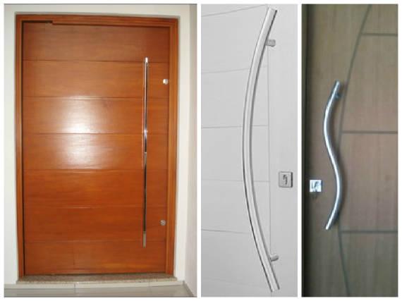 Modelos de puxador de porta pivotante modernos