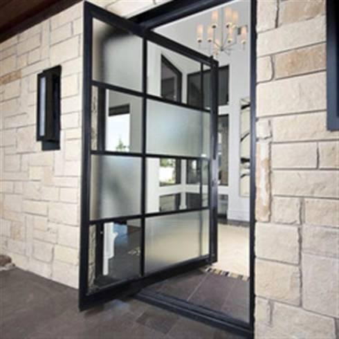 Dicas de porta pivotante ideal para casa branca