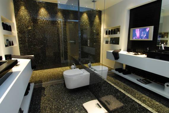 Fotos de piso de granito para banheiro