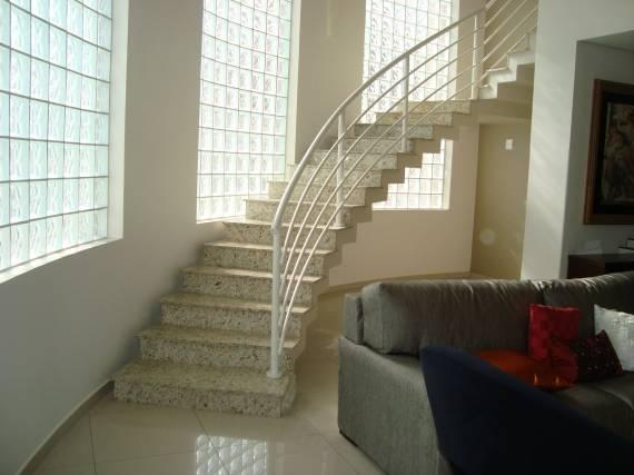 Cores de granito para escada moderna clean
