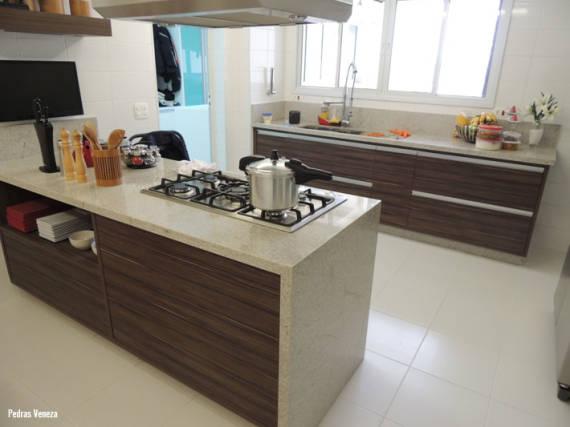 Modelos de granito branco para cozinha - Itaunas