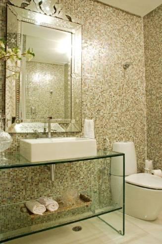 Dicas de bancadas modernas para banheiro - tipos e materiais
