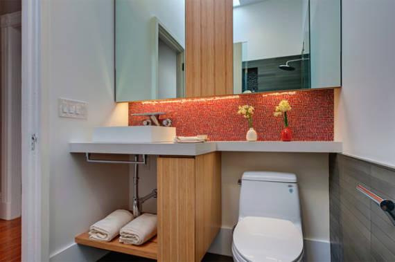 Dicas de bancadas ideais para banheiros pequenos