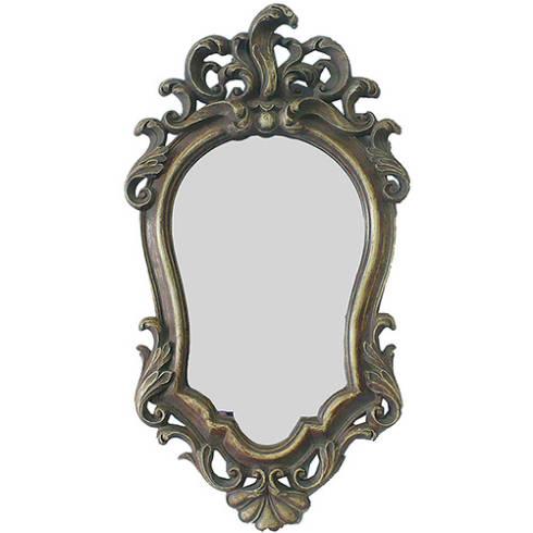 Preço de espelho barroco vitoriano antigo