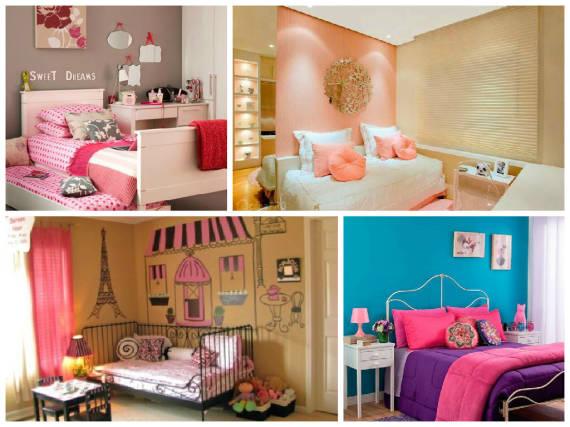 Cores De Tintas Para Quarto Feminino ~ Cores para parede de quarto de menina