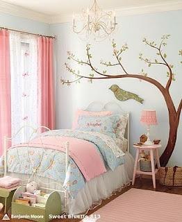 Ideias de cores lindas para quarto de menina adolescente