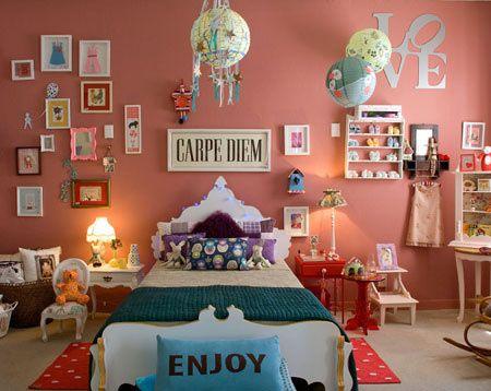 Dicas de tons de rosa para quarto feminino moderno