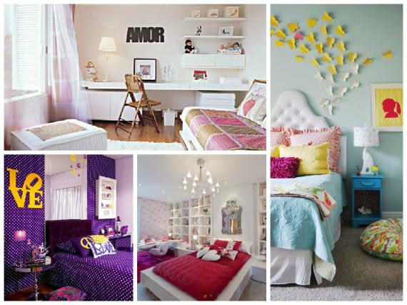 Cores De Tintas Para Quarto Feminino ~ Dicas de enfeites e cores de m?veis e paredes para quarto de menina