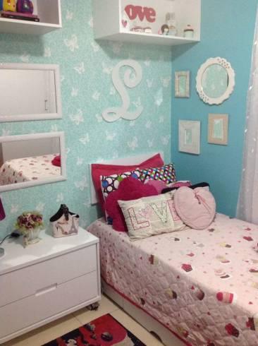 Dicas de decoração para quarto feminino azul
