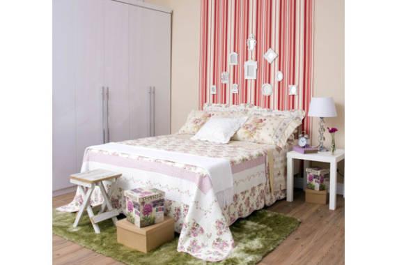 Decoração de quarto de solteiro feminino simples e barato