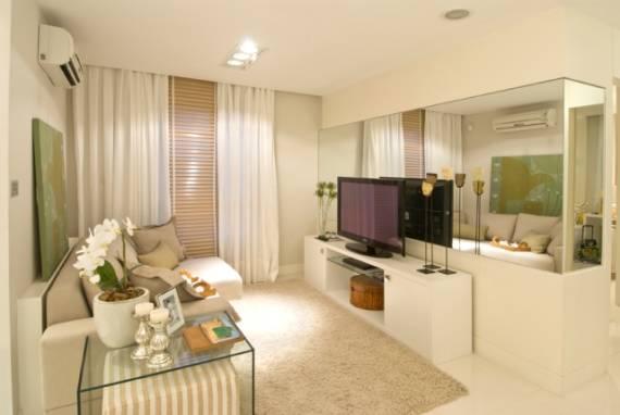 Dicas de decoração simples para sala clean moderna