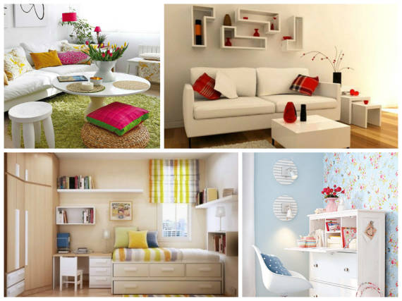 Fotos decorao salas ambientes pequenos 81