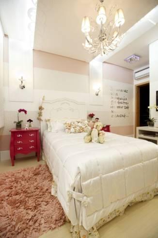 Fotos de quartos femininos com decoração provençal