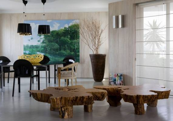 Decora o r stica 80 ideias simples e fotos for Sala rustica moderna