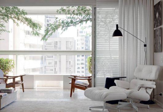 Melhores fotos de apartamentos clean modernos