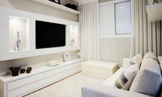 Ideias simples para decorar sala pequena clean