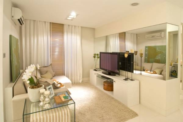 Fotos de apartamentos clean pequenos decorados