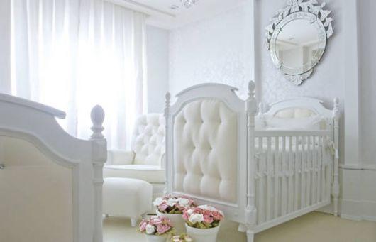 Fotos de quartos de bebê clean provençal