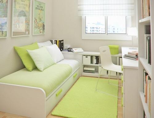Fotos de quartos decorados com estilo clean para crianças e adolescentes