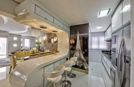 Dicas de decoração para cozinha moderna e clean