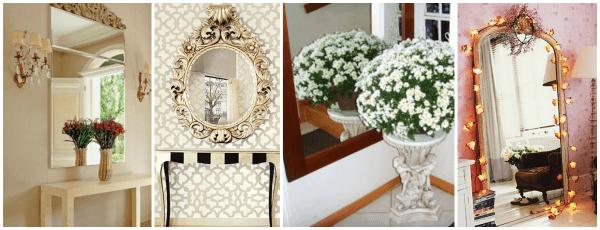 Imagens de salas com espelhos