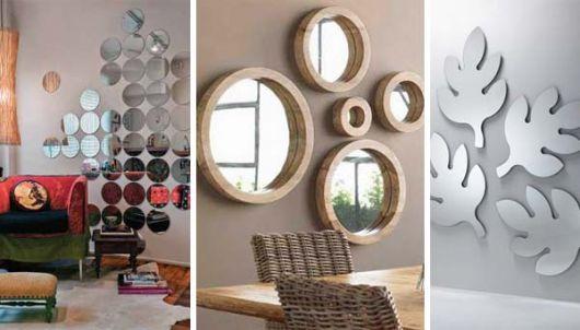Dicas de composição com espelhos decorativos na parede