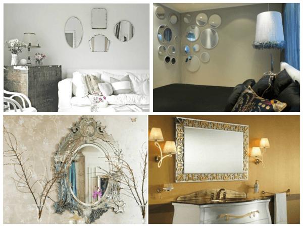 Dicas de modelos de espelhos decorativos para sala