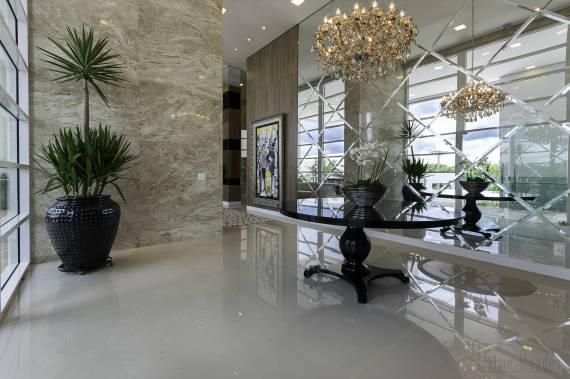 Dicas de decoração com espelho bisotado para hall de entrada