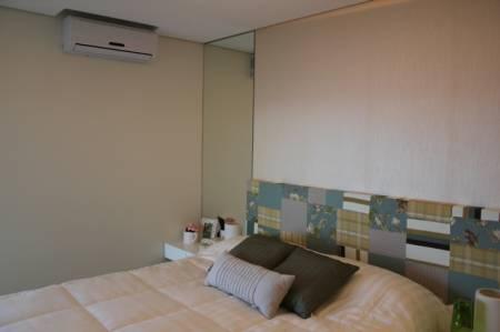 Decoração de quarto de casal simples - cabeceira barata e fácil de fazer