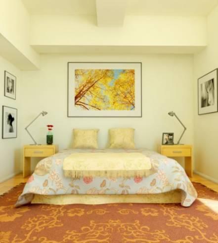 Dicas de Decoração de quarto de casal simples e colorido
