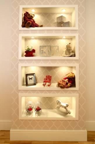 Dicas de decoração simples com fita led e spots